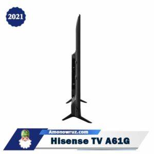 حاشیه تلویزیون هایسنس A61G