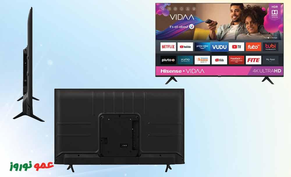 طراحی تلویزیون هایسنس A61G
