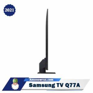زاویه تلویزیون سامسونگ Q77A