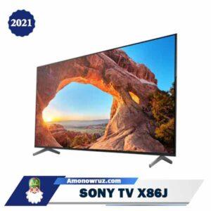 زاویه تلویزیون سونی X86J
