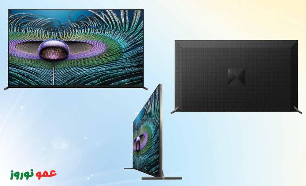 طراحی تلویزیون سونی Z9J