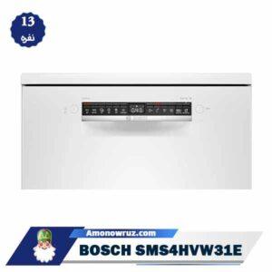صفحه نمایش ماشین ظرفشویی بوش 4HVW31E